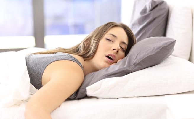 Por que você baba enquanto dorme?